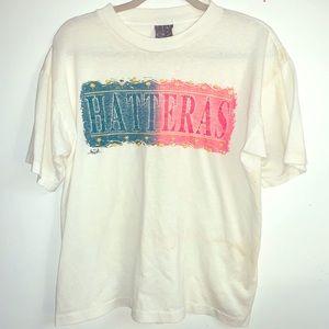 Vintage single stitch Hatteras tee M
